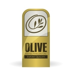 Olive oil design orgnic concept white background vector