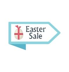 Easter Sale arrow icon vector image vector image