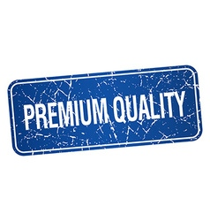 Premium quality blue square grunge textured vector