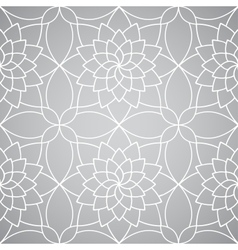 abstract floral wallpaper Seamless pattern vector image vector image