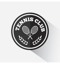 Logo design tennis vector