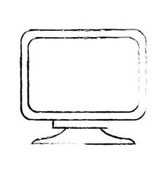 Monitor screen computer equipment technology vector