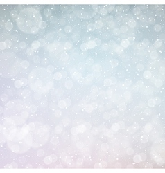 new year snowing bokeh background vector image