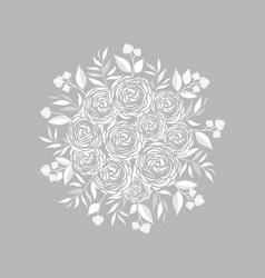 Ranunculus flower vector