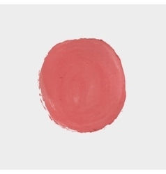 Red paint circle vector