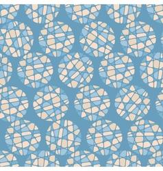 Abstract mosaic balls texture vector image