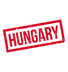 Hungary rubber stamp vector