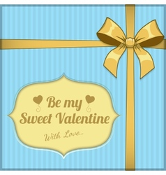 Saint valentine day background vector