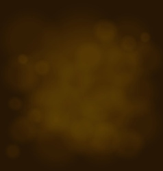 Abstract magic light sky bubble blur gold vector