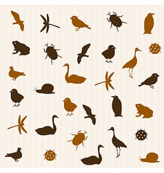 Animal seamless pattern 2 vector image vector image