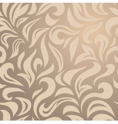 Elegant stylish abstract floral wallpaper vector image vector image
