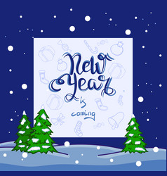 New year backgrond vector