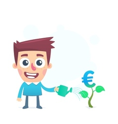 Support business in the european union vector
