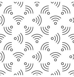 Wi-Fi seamless pattern vector image