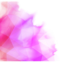 abstract watercolour design vector image