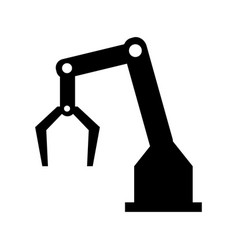 Backhoes icon vector