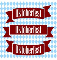 emblem oktoberfest beer festival 2017 oktoberfest vector image