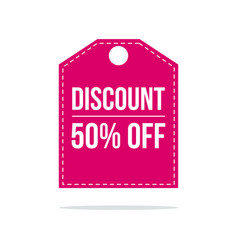 special offer sale discount price label vector image