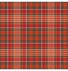 Warm color check plaid square pixel seamless vector