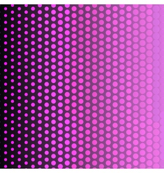 Abstract background with halftone effect vector