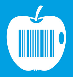 Code to represent product identification icon vector