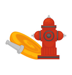 Fire extinguishing equipment extinguisher hydrant vector