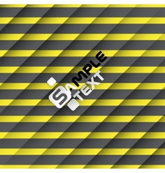 Black and yellow striped background vector