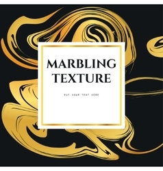 Marble pattern gold vector