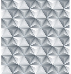 Abstract geometric triangle seamless 3D texture vector image vector image