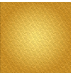 Background thai gold pattern vector
