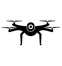 drone technology isolated icon vector image