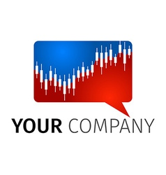 Exchange Logo vector image vector image