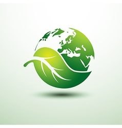 green earth4 vector image