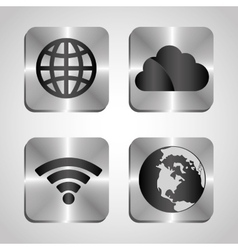 Mobile technology applications vector