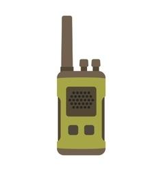 Portable radio set transceiver wave mobile vector