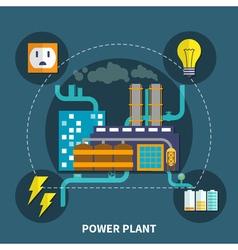 Power plant design vector