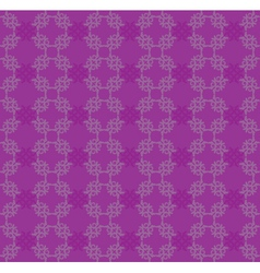 Purple flourish pattern vector image vector image