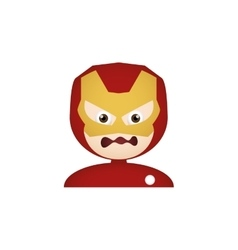 Costume facial expression vector