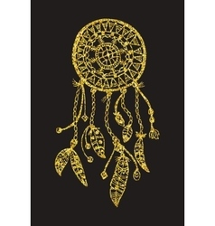 Tribal dream catcher vector