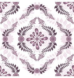 Seamless white pink pattern vector