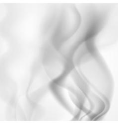 Smoke background vector image