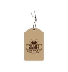 Special summer label vector image