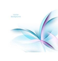 Colorful wavy backdrop vector