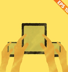 Bring Your Own Device concept - - EPS10 vector image