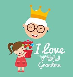 Grandparents concept design vector