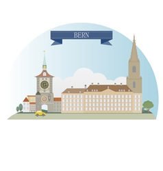 Bern vector image vector image