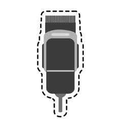 Isolated shaver design vector