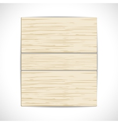Wooden panel background vector