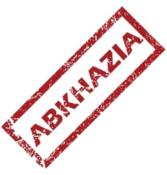 New abkhazia rubber stamp vector