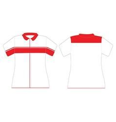 uniform design for women vector image
